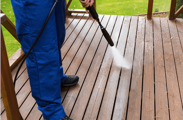 alhambra deck cleaning