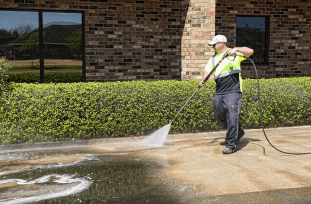 commercial concrete cleaning in alhambra
